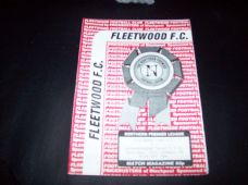 Fleetwood Town v Gainsborough Trinity, 1993/94